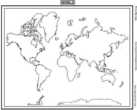 Trust image throughout printable blank world maps for students